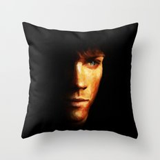 Sam Winchester / Supernatural - Painting Style Throw Pillow