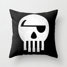 Music Piracy Throw Pillow