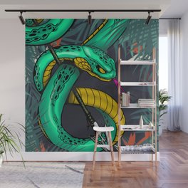 grean Wall Mural