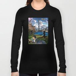 The Diamond Age - Neal Stephenson Long Sleeve T-shirt