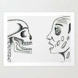 Plague Days Art Print