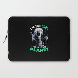 Too Cool For Just One Planet  Laptop Sleeve