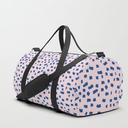 Blue Dash Duffle Bag