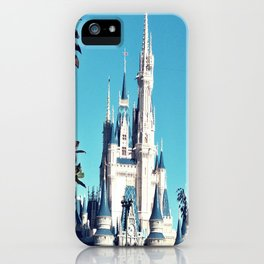 Castle Framed by Leaves iPhone Case