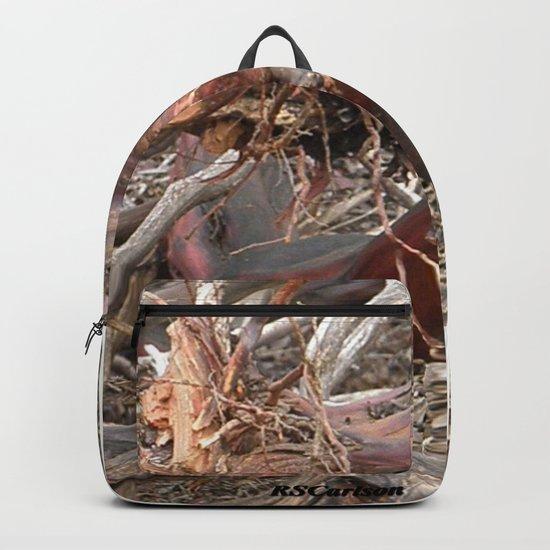 TEXTURES - Manzanita Drought Conditions #4 Backpack