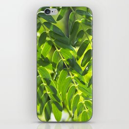 Sunny Leaves iPhone Skin