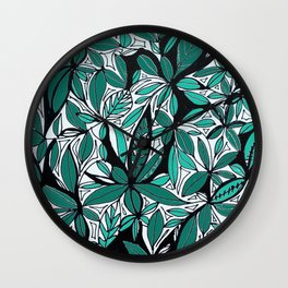 In the jungle_2 Wall Clock