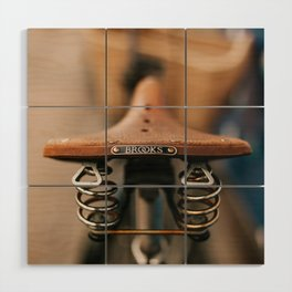 Brooks Bike Wood Wall Art