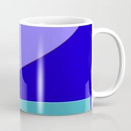 Minimal With Blue Coffee Mug
