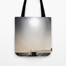 Venice Beach California Guard Tower Tote Bag