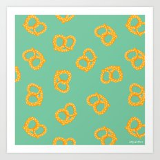 These Pretzels Are Making Me Thursty Art Print
