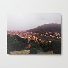 Heidelberg, Germany. Metal Print