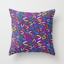 BP 73 Triangle Bars Throw Pillow