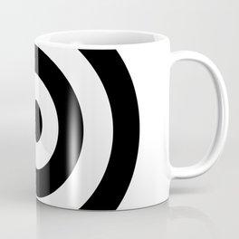 Classic Modern Bullseye Coffee Mug