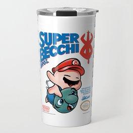 SUPER BECCI BROS. (V1) Travel Mug