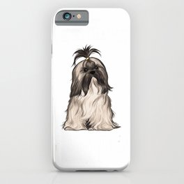 Life Is Better With A Lhasa Apsos Dog Lover T-Shirt iPhone Case