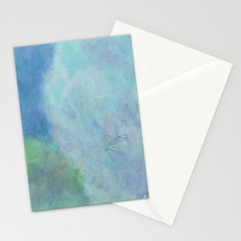 Minimal Cliff - 遠望 series - oil-paint Stationery Cards
