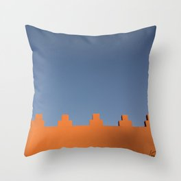 Marrakech Sky Throw Pillow