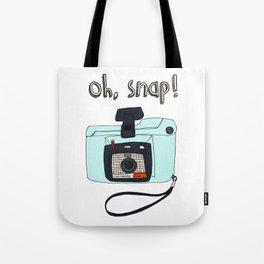 Oh, snap! Polaroid Camera Tote Bag
