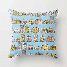Beautiful Day in the Neighborhood Throw Pillow
