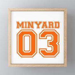 Minyard 03 Framed Mini Art Print