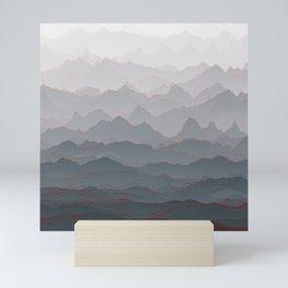 Mountains of Madness I Mini Art Print