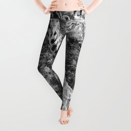 African Giraffe - Through The Woods And Through The Trees Leggings