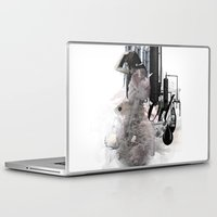 oil Laptop & iPad Skins featuring OIL by CITYABYSS