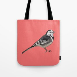 Peter the Pied Wagtail Tote Bag