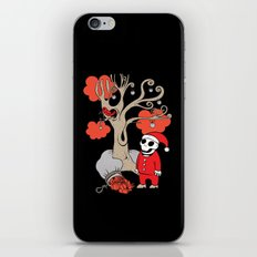SANTA'S RED BIRD iPhone & iPod Skin