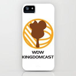 WDW Kingdomcast - Classic logo iPhone Case