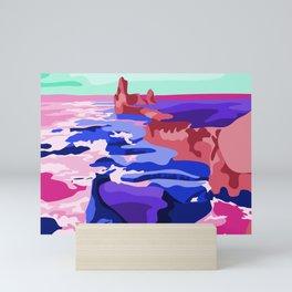 Bright Iceland Mini Art Print