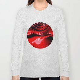 Cherry Syrup on Ice Cream Long Sleeve T-shirt
