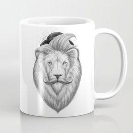 bearded lion Coffee Mug