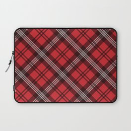 Scottish Plaid-Red Laptop Sleeve