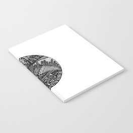 Fish Zendala Notebook