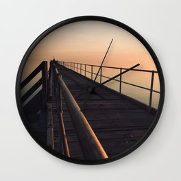 The Port Germein jetty is the longest in South Australia and, reputedly, the longest in the southern Wall Clock