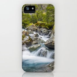 Hollyford Headwaters iPhone Case