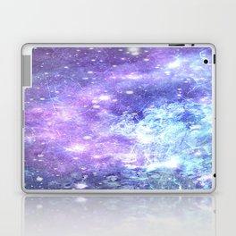 Grunge Galaxy Lavender Periwinkle Blue Laptop & iPad Skin