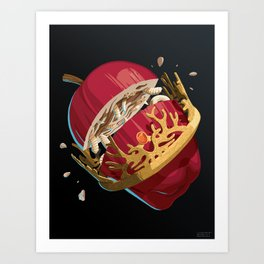 The Rotten King - WORDLESS Art Print
