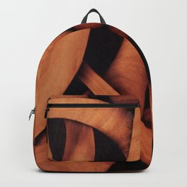 Abstract fantasy marquetry art picture Backpack