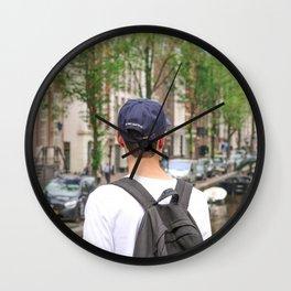 amsterdam boy Wall Clock