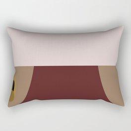 Odo - Minimalist Star Trek DS9 Deep Space Nine - Constable Odo - startrek - Trektangles Rectangular Pillow