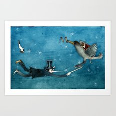 dream - the escape Art Print