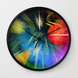 amor colorum Wall Clock