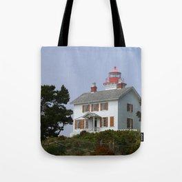 Historic Yaquina Bay Lighhouse Tote Bag