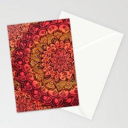 Ruby & Garnet Doodle Stationery Cards