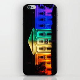 The White House in Rainbow Colors iPhone Skin