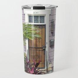 New Orleans Marigny Purple House Travel Mug