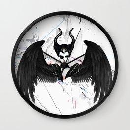Pirate Maleficent Wall Clock